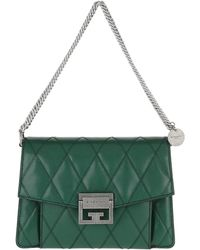 df06ef6448b8 Givenchy Forest Leather Medium Antigona Satchel Bag in Green - Lyst