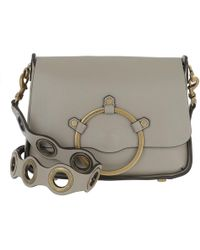 Rebecca Minkoff - Ring Shoulder Bag Taupe - Lyst