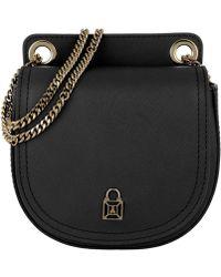 Patrizia Pepe - Leather Crossbody Bag Black - Lyst