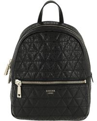 Guess - Tabbi Backpack Black - Lyst