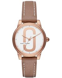 Marc Jacobs - Mj1579 Corie Watch Brown - Lyst