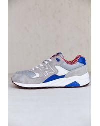 New Balance White 580 Sneaker - Lyst
