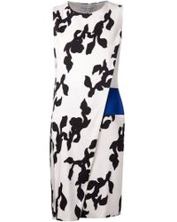Narciso Rodriguez Overlay Dress - Lyst