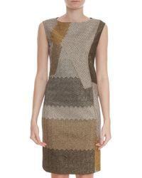 Missoni Lurex Mid Length Dress - Lyst