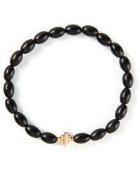 Luis Morais Gold Detail Bracelet - Lyst