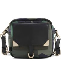 Vanessa Bruno Small Betty Camouflage Camera Bag - Lyst