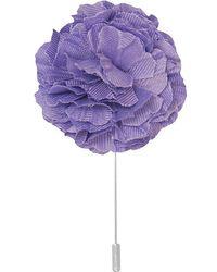 Dibi - Lavender Lapel Pin - Lyst