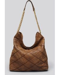 Tory Burch Hobo  Lysa Stitched - Lyst