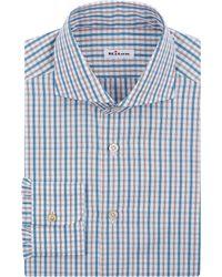Kiton Plaid Shirt - Lyst