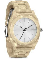 Nixon Time Teller Acetate Analog Watch - Lyst