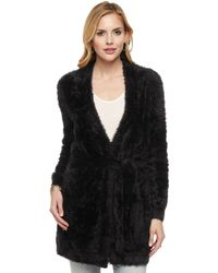 Juicy Couture | Slinky Fur Cardigan | Lyst