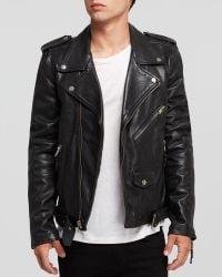 BLK DNM Leather Biker Jacket black - Lyst