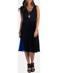 Timo Weiland Savannah Midi Dress black - Lyst