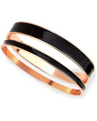 Tuleste - Two-piece Channel Bangle Set - Lyst