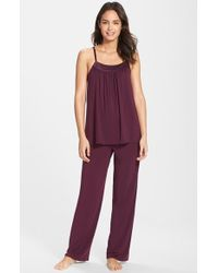 Midnight By Carole Hochman 'Looking For Love' Pajamas - Lyst