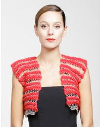 Wool And The Gang Harley Vest - Lyst