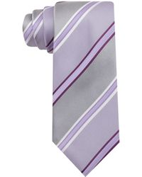 Kenneth Cole Reaction Angel Stripe Slim Tie - Lyst