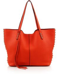 Rebecca Minkoff   Unlined Leather Tote   Lyst
