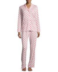 Cosabella - Bella Snowflake-print Pajama Set - Lyst