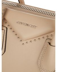 b14227c6362a ... Givenchy - Antigona Small Studded Leather Tote - Lyst finest selection  1a1f8 8642d ...