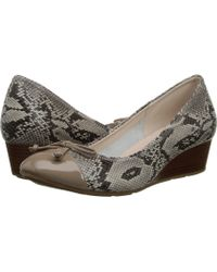 Cole Haan Tali Lace Wedge - Lyst