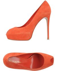 Gianvito Rossi Court red - Lyst