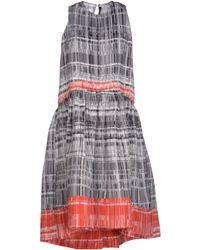 Comeforbreakfast - Knee-Length Dress - Lyst