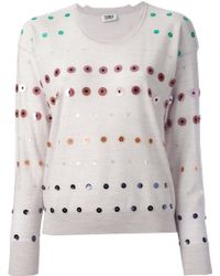 Sonia By Sonia Rykiel Sequined Jumper - Lyst