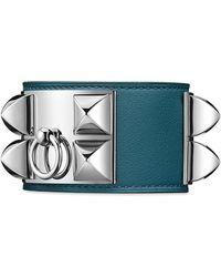 Hermès Collier De Chien blue - Lyst