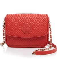 Tory Burch Mini Bag - Marion Quilted - Lyst