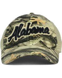 Legacy Athletic - Alabama Crimson Tide Lost Camo Script Trucker Cap - Lyst