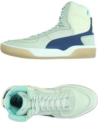 Alexander McQueen x Puma High-Tops & Trainers white - Lyst