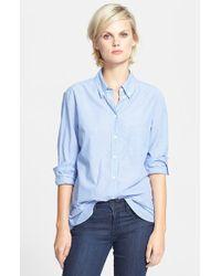 Equipment 'Margaux' Stripe Cotton Shirt - Lyst