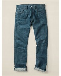 RRL Slim Fit Selvedge Jean - Lyst