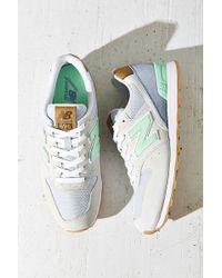 New Balance 696 Running Sneaker green - Lyst
