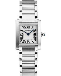 Cartier Tank Française Steel Small Watch - For Women silver - Lyst