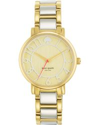 Kate Spade Gramercy Twotone Stainless Steel Watch - Lyst