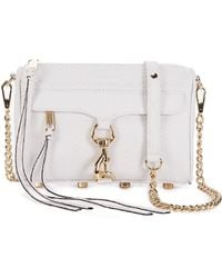 Rebecca Minkoff Python Embossed Mini Mac - Lyst