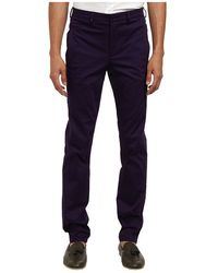 Versace Stretch Cotton Chino - Lyst