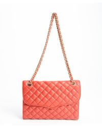 Rebecca Minkoff Scarlet Quilted Leather Affair Braided Chain Shoulder Bag - Lyst