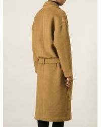 Filles A Papa - Oversized Belted Coat - Lyst