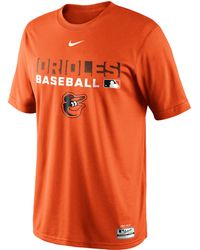 Nike Mens Baltimore Orioles Authentic Collection Drifit Legend Team Issue Tshirt - Lyst