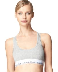 Calvin Klein Modern Cotton Bralette - Lyst