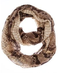Henri Bendel Snake Infinity Scarf - Lyst