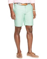 Polo Ralph Lauren Big And Tall Classic Greenwichs Flat Front Shorts - Lyst