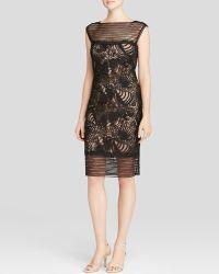 Tadashi Shoji Dress - Illusion Detail Lace Motif - Lyst