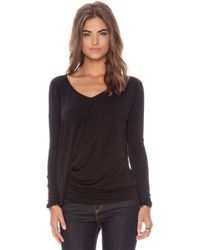 Elizabeth And James Long Sleeve Denver Tee - Lyst