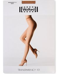 Wolford Transparency 10 Tights - For Women - Lyst