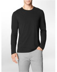 Calvin Klein Slim Fit Quilted Cotton Shirt - Lyst