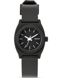 Nixon The Small Time Teller Black Watch 26mm - Lyst